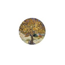 Mulberry Tree by Vincent Van Gogh Mini Button