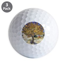 Mulberry Tree by Vincent Van Gogh Golf Ball