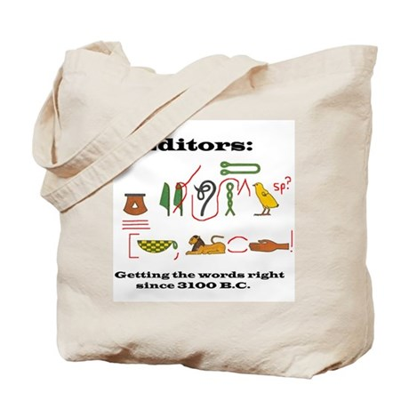 Editors in History Tote Bag