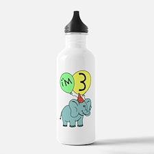 Birthday Elephant Thre Water Bottle