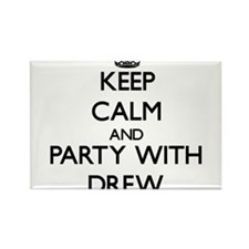 Keep Calm and Party with Drew Magnets