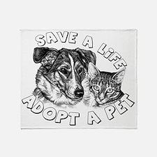 AdoptaPet Throw Blanket