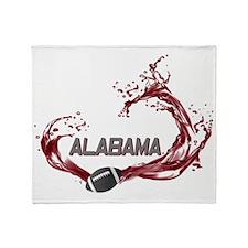 ALABAMA TIDE Throw Blanket