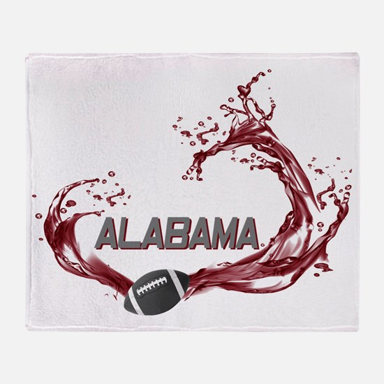 ALABAMA TIDE Throw Blanket