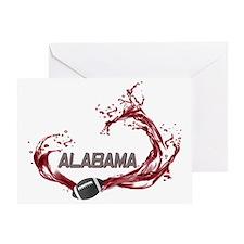 ALABAMA TIDE Greeting Card