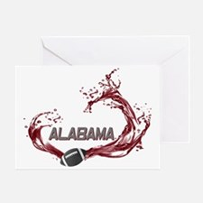 ALABAMA TIDE Greeting Card