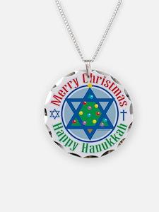 Christmas-Hanukkah Necklace