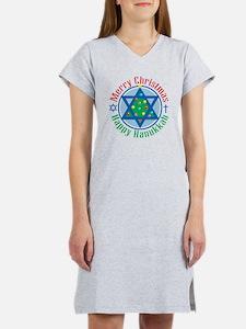 Christmas-Hanukkah Women's Nightshirt