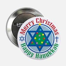 "Christmas-Hanukkah 2.25"" Button"