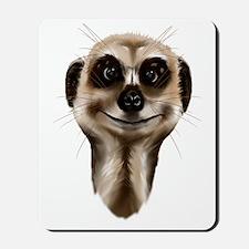 Meerkat Face Trans Mousepad