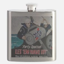 Party Spotted Flask