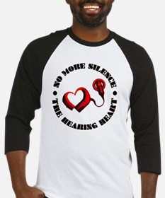 The Hearing Heart with No More Sil Baseball Jersey