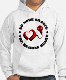 The Hearing Heart with No More S Hoodie