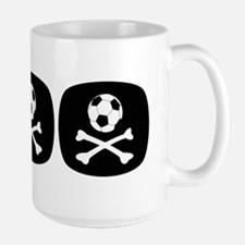 Bloody Football Hooligan Large Mug
