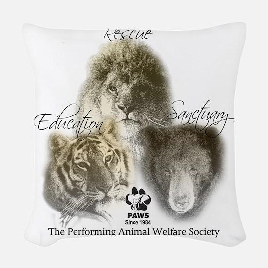 T-shirtFINAL Woven Throw Pillow