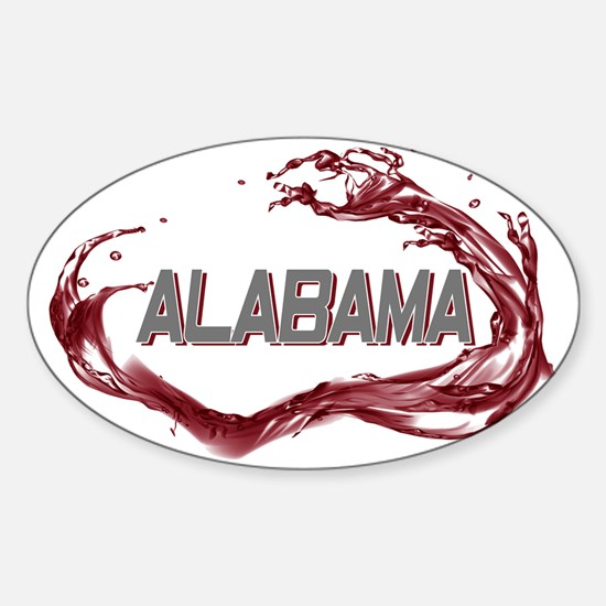 ALABAMA TIDE2 Sticker (Oval)