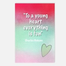 young-heart-card Postcards (Package of 8)
