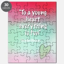 young-heart-card Puzzle