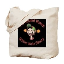 goofy-girl-well-behaved-BUT Tote Bag