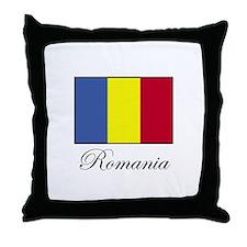 Romania - Romanian Flag Throw Pillow