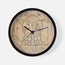 2010vitruv9X12 Wall Clock