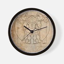 2010vitruv16X20 Wall Clock