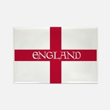 PC English Flag - England Goudy M Rectangle Magnet
