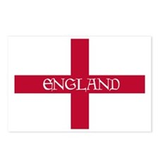 PC English Flag - England Postcards (Package of 8)