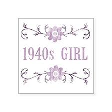 """FlowerGirl1940 Square Sticker 3"""" x 3"""""""
