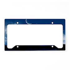 bluemoonlake_miniposter_12x18 License Plate Holder