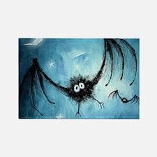 bat_blue_miniposter_12x18_fullble Rectangle Magnet