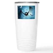 bat_blue_miniposter_12x18_fullb Travel Mug
