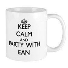 Keep Calm and Party with Ean Mugs