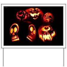 glowing_pumpkins_miniposter_12x18_fullbl Yard Sign