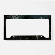graveyardmeeting_miniposter_1 License Plate Holder
