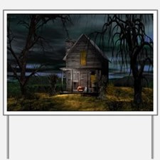 houseinthewoods_miniposter_12x18_fullble Yard Sign
