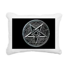 pentagram_miniposter_12x Rectangular Canvas Pillow