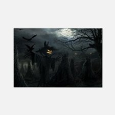 midnightscarecrow_miniposter_12x1 Rectangle Magnet