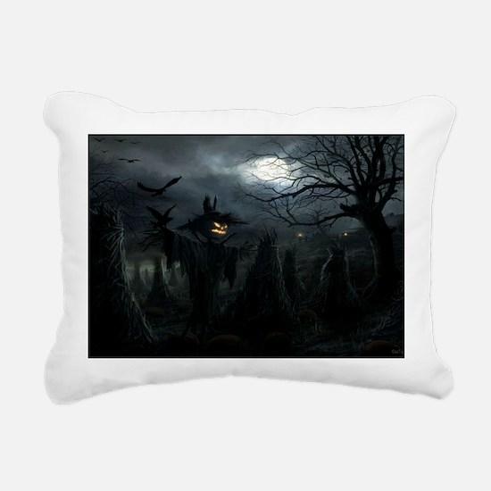 midnightscarecrow_minipo Rectangular Canvas Pillow