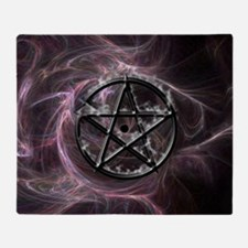 pentagram3_miniposter_12x18_fullblee Throw Blanket