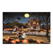 trickortreatcountry_mini  Postcards (Package of 8)