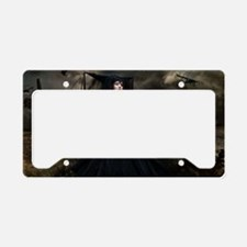 witchgown_miniposter_12x18_fu License Plate Holder