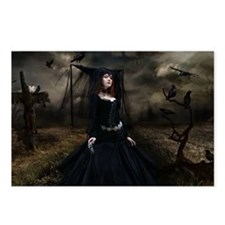 witchgown_miniposter_12x1 Postcards (Package of 8)