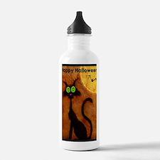 happyhalloweenscardyca Water Bottle