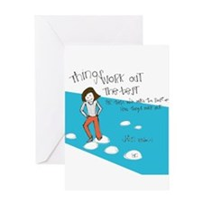 One Step at a Time Greeting Cards