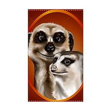 Meerkat PosterP Decal