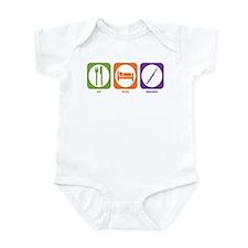 Eat Sleep Bassoon Infant Bodysuit