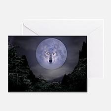 wolfmoon_miniposter_12x18_fullbleed Greeting Card