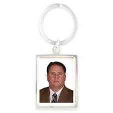 kelly cutout Portrait Keychain