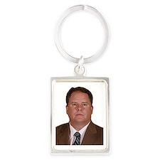 kelly cutout Portrait Keychain